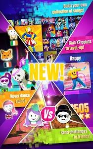 screenshot of Just Dance Now version 1.3.9
