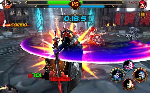 screenshot of Kritika: The White Knights version 2.36.2