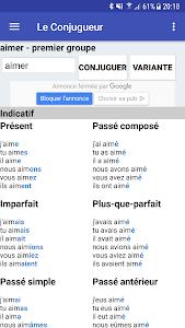 Download Le Conjugueur 2.61 APK