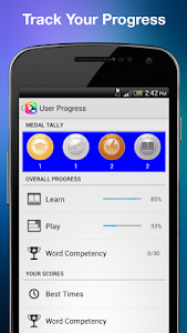 screenshot of Learn &Play Arabic Beginner version 4.6.0-agp