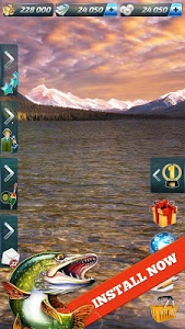screenshot of Let's Fish: Sport Fishing Games. Catch fish 2017 version 4.3.0