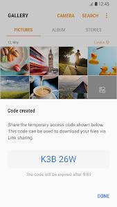 screenshot of Link Sharing version 3.4.25.2
