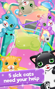 screenshot of Little Cat Doctor:Pet Vet Game version 2.3