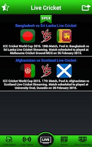 Download Live Cricket Matches 1.6 APK