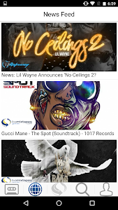 screenshot of LiveMixtapes version 1.0.171