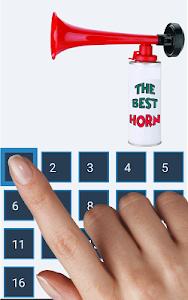 screenshot of Loudest Air Horn version 1.2