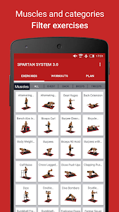 screenshot of MMA Spartan System 3.0 Free version 1.0