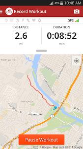 screenshot of Map My Ride GPS Cycling Riding version 16.3.1