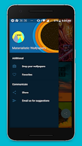 Download Materialistic Pie Wallpapers 2.248 APK