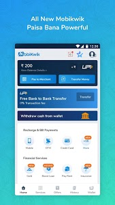 screenshot of Mobile Recharge,Bill Payments,UPI & Money Transfer version 15.5