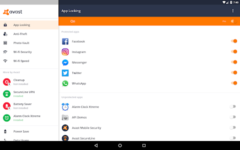 Download Avast Mobile Security 2018 - Antivirus & App Lock 6.11.6 APK