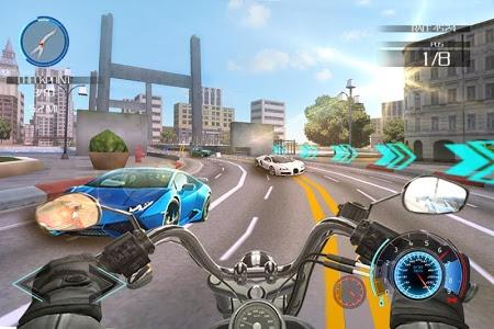 screenshot of Moto Traffic Race version 1.1