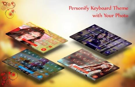 screenshot of My Photo Keyboard version 1.4