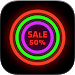 Download Neon Glow - Icon Pack 7.3.1 APK