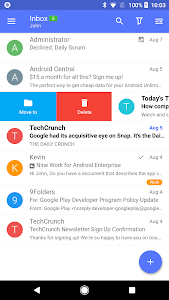 screenshot of Nine - Email & Calendar version 4.1.9