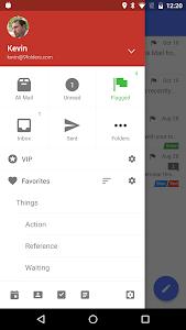screenshot of Nine - Exchange on Mobile version 2.2.1