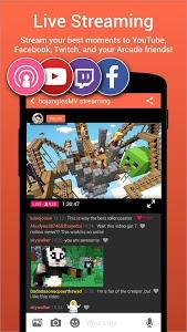 screenshot of Omlet Arcade version 1.12.2
