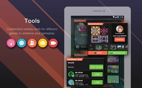 screenshot of Omlet Arcade - Stream, Meet, and Play version 1.28.2