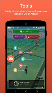screenshot of Omlet Arcade (Pokemon Go Chat) version 1.8.1
