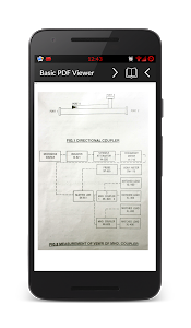 screenshot of PDF Reader version 1.11