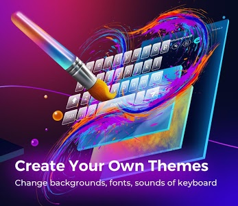 screenshot of Cheetah Keyboard-Gif,Emoji Keyboard&3D Themes version 4.7.2