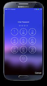 screenshot of Password Screen Lock version 1.5