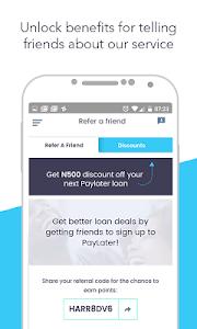 screenshot of Paylater version 2.2.0