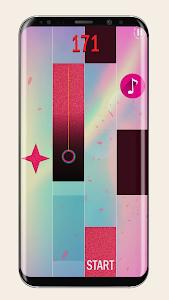 screenshot of Piano Pink Tiles 2 version 1.0