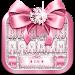 Download Pink Bow Diamond Luxury Keyboard Theme 1.0 APK