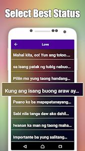Download Pinoy Tagalog Hugot Bisaya Love Quotes Editor 4 0 Apk