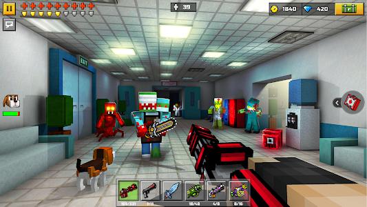 screenshot of Pixel Gun 3D: Survival shooter & Battle Royale version 15.9.0