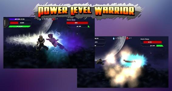 screenshot of Power Level Warrior version 1.1.7p1