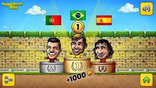 Download ⚽Puppet Soccer 2014 - Big Head Football ? 1.0.125 APK