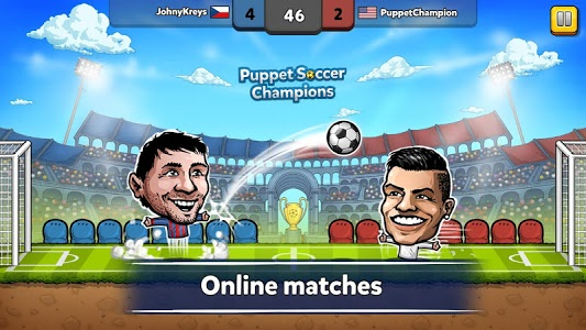 Download ⚽ Puppet Soccer Champions – League ❤️? 2.0.8 APK