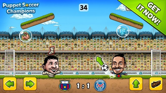 screenshot of ⚽ Puppet Soccer Champions ❤️ version 1.0.45