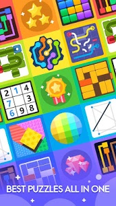 screenshot of Puzzle Out - Pipes, Hexa Lines, Unblock, Tangram version 1.14.3183