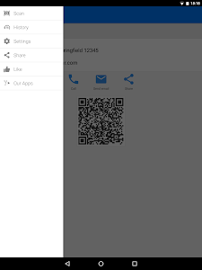 screenshot of QR & Barcode Scanner PRO version Varies with device