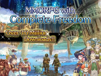 screenshot of RPG Toram Online version 3.2.52