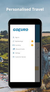 screenshot of GoEuro: Trains, buses, flights version 5.5.2