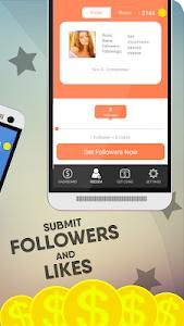 screenshot of Real Followers VIP version 1.0.0