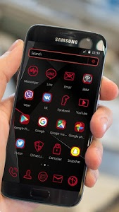 Download Red Live light Theme 1.1.11 APK