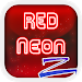 Download Red Neon ZERO Launcher 1.186.1.104 APK