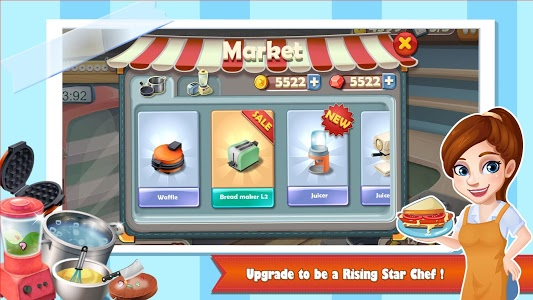 Download Rising Super Chef:Cooking Game 1.9.0 APK
