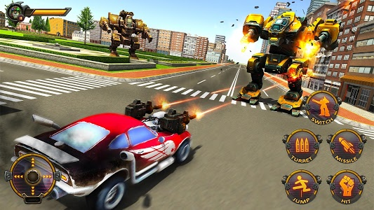 Download Robot Car War Transform Fight 1.4 APK
