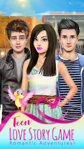 Download Romantic Adventures of a Teen: Love Story Games 2.2 APK