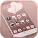 Download Rose gold diamond Theme 1.1.7 APK