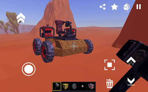 screenshot of SSS: Super Scrap Sandbox - Become a Mechanic version 0.0.4.35-alpha