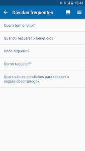 screenshot of Seguro Desemprego - Consulta 2018 version 1.7.7