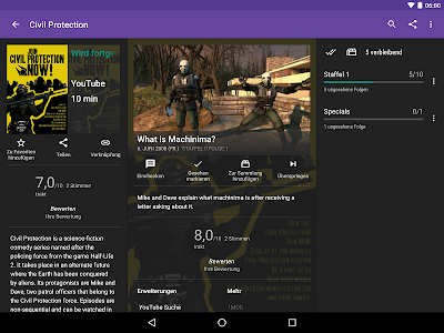 screenshot of SeriesGuide – Show & Movie Manager version 46.1