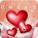 Download Romantic Love Heart Keyboard Theme 6.8.18.2018 APK